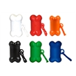Pet Trash Bag Dispenser - Bone - Pet trash bag container, bone shape, with 20 poly bags.