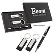 Executive Pen And Leatherette Key Tag Box Set