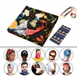 Sports Magic Scarf - Sports Magic Headband Scarf with 10 different way to play and free color imprint on 1 side