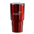 Perfect Temp 30 oz. Stainless Steel Vacuum Tumbler - 30 oz. stainless steel tumbler with double wall vacuum insulation and slide function lid.