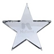 Crystal Star Paperweight - Optically perfect crystal star paperweight.