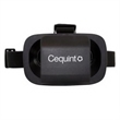 """Virtual Reality Viewer - 4"""" x 5.75"""" x 3.5"""" black virtual reality viewer that allows recipients to watch online videos on their smartphones."""