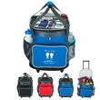 24 Can Rolling Kooler - Large insulated cooler tote made of 420 denier polyester, holds up to 24 cans.
