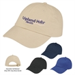 Brushed Cotton Twill Cap - Brushed Cotton Twill Cap.  100% Brushed Cotton Twill,  6 Panel, Low Profile, Unstructured Crown & Pre-Curved Visor.