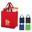Matte Laminated Non-Woven Shopper Tote Bag - Matte Laminated Non-Woven Shopper Tote Bag.  Made Of 80 Gram Laminated Non-Woven, Coated Water-Resistant Polypropylene.