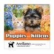 2017 Puppies & Kittens Wall Calendar - Spiral