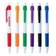 Serrano Pen - Plunger Action pen with rubber grip.