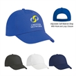 Budget Saver Non-Woven Cap - Budget Saver Non-Woven Cap is made of 80 Gram Non-Woven, Coated Water-Resistant Polypropylene. 5 Panel, Medium Profile.