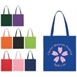 """Non-Woven Economy Tote Bag - Non-Woven Economy Tote Bag.  Made of 80 Gram Non-Woven, Coated Water-Resistant Polypropylene.  22"""" Handles. Spot Clean/Air Dry."""