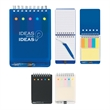 Spiral Jotter with Sticky Notes, Flags & Pen - Spiral jotter with sticky notes, flags & pen.