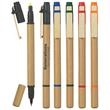 Dual Function Eco-Friendly Pen/Highlighter - Dual function eco-friendly pen with chisel tip yellow highlighter.