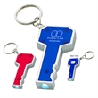 Key Shape LED Key Chain - Key shape LED key chain. Batteries included.