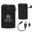 Portable Charger With LED Light - Portable charger with LED light.