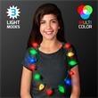 Jumbo Christmas Bulb Light Necklaces, Bulk Packaging
