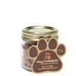 Cat Treats in Half Pint Jar w/ Paw Magnet -
