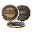 """1 1/2"""" Custom Texture Tone Double Sided Coin"""