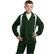 Sport-Tek Youth Colorblock Raglan Jacket. - Sport-Tek Youth Colorblock Raglan Jacket.