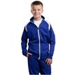 Sport-Tek Youth Tricot Track Jacket. - Sport-Tek Youth Tricot Track Jacket.
