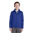Sport-Tek Youth Sport-Wick Fleece Full-Zip Jacket. - Sport-Tek Youth Sport-Wick Fleece Full-Zip Jacket.