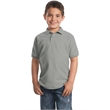 Port Authority Youth Silk Touch Polo. - Port Authority Youth Silk Touch Polo.