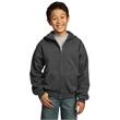 Port & Company - Youth Core Fleece Full-Zip Hooded Sweats... - Port & Company - Youth Core Fleece Full-Zip Hooded Sweats...