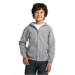 Gildan Youth Heavy Blend Full-Zip Hooded Sweatshirt. - Gildan Youth Heavy Blend Full-Zip Hooded Sweatshirt.
