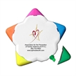 Star Lighter - Star Shaped Highlighter With Four Color Decal
