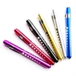 Medical Clickable LED Penlight With Pupil Gauge