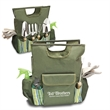 10 pc Garden Tool Tote - 10 pc garden tool tote with spray bottle, gloves, garden tie roll and garden tools.