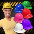 Novelty Plastic Construction Hats