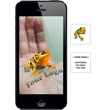 Augmented Reality Tattoos - Golden Frog - Augmented Reality Temporary Tattoo: Golden Frog