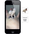 Augmented Reality Tattoos - Polar Bear - Augmented Reality Temporary Tattoo: Polar Bear