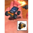 Augmented Reality Tattoos - Black Monster Truck - Augmented Reality Temporary Tattoo: Black Monster Truck