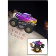 Augmented Reality Tattoos - Purple Monster Truck - Augmented Reality Temporary Tattoo: Purple Monster Truck