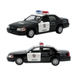 Police Car Crown Victoria Police Car Pull Back - Crown Victoria police car replica with pull back function.