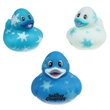Snowflake Duck - For a unique twist on a classic bathtime toy, look no further than these snowflake rubber ducks!