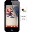 Augmented Reality Tattoos - Goldfish - Augmented Reality Temporary Tattoo: Goldfish