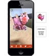 Augmented Reality Tattoos - Pig - Augmented Reality Temporary Tattoo: Pink Pig