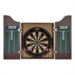 Accudart - Deluxe Dartboard Cabinet Set with Rosewood Finish - Accudart - Deluxe Dartboard Cabinet Set with Rosewood Finish