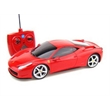 """1/18 Scale Ferrari 458 Remote Control Race Car - Check out this Ferrari 10"""" Remote Control Car. Full Function, forward, backward, left and right Battery for vehicle"""