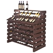 Waterfall Fixture Deluxe 204 Bottles- Stained