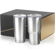 30 oz Big Joe & 20 oz Joe  Stainless Steel tumbler Gift Set - Gift set with two 18/8 double walled vacuum sealed travel mugs