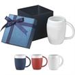 16 oz Matte ceramic Sweater Mug Gift Set - 16 oz. ceramic mug in a gift box.
