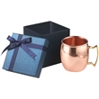 20 oz Classic solid copper Moscow Mule Gift Set - Gift box with 20 oz. Moscow Mule copper mug