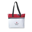 """Marina Convention Tote - Tote bag with zippered closure and 26"""" shoulder straps"""