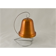"Large Bell - Orange. 4"". - Large Bell - Orange. Aluminum. 4"""