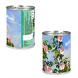 Plant Canister with Stock Imprint - Open, water, watch it grow! Made in USA.