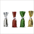 Mylar Wine Bags with Ribbons, Retail Pack