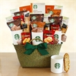 Starbucks Green & Glorious Holiday Party - On bulk orders Gift Basket can be personalized with branded hangtag.