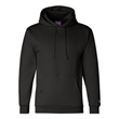 Champion Double Dry Eco® Hooded Sweatshirt - Moisture-wicking pullover hoodie with two-ply hood, dyed-to-match drawcord, and front pouch pocket.